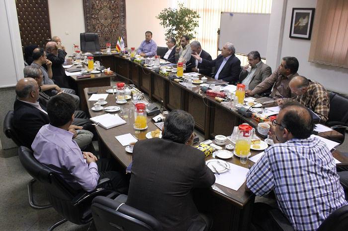هشتمین جلسه ستاد بیست و چهارمین نمایشگاه فرش دستباف ایران با حضور اعضای ستاد در محل مرکز ملی فرش ایران برگزار شد