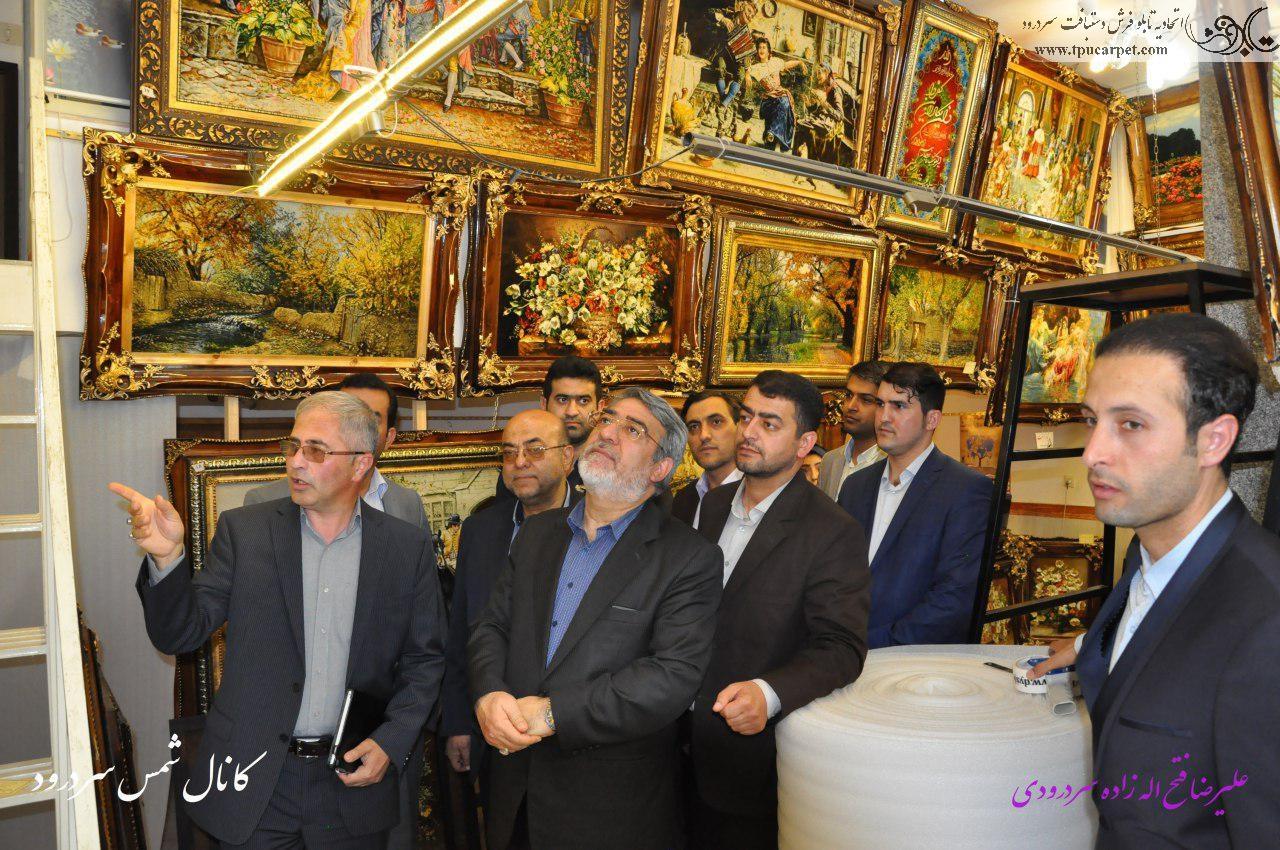 وزير محترم كشور:الحاق شهر سردرود به كلانشهر تبريز، تابلو فرش اين شهر را تهديد مي كند .
