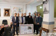 گزارش تصویری از بازدید رئیس مرکز ملی فرش ایران از کارگاه ها و گالری های تابلوفرش سردرود