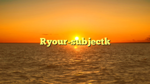[your-subject]