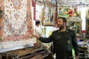 بازدید مسئولین بسیج سازندگی استان آذربایجان شرقی از کارگاه ها و گالری های تابلوفرش سردرود